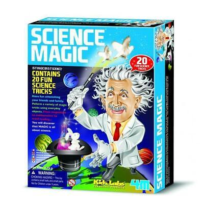 Science Magic Kit - 20 Science Tricks Kids Experiments Educational Toy Children
