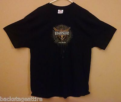 KILLSWITCH ENGAGE THE END OF HEARTACHE JESSE LEACH XL T-Shirt Tshirt-New!!