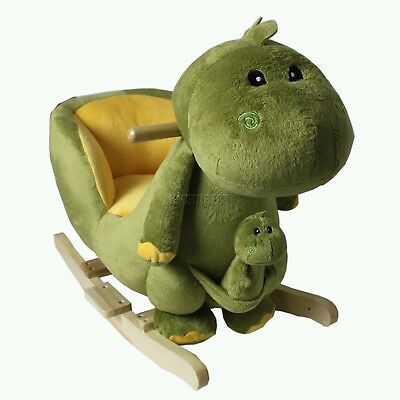 FoxHunter Dinosaur Animal Rocker Baby Kids Rocking Infant Children Toy Toddler