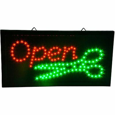 Barber Shop scissors animated beauty salon hair cut open LED business Sign neon
