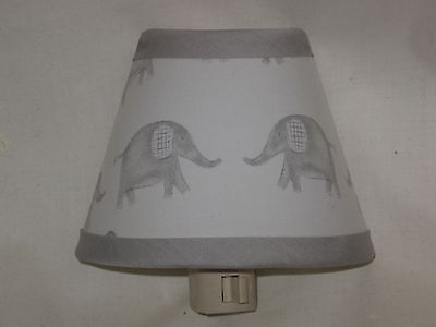 Taylor Elephant Fabric Night Light M2M Pottery Barn Kid Bedding