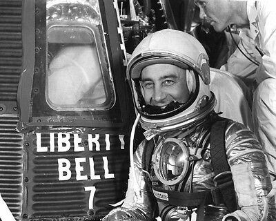 Virgil I. Gus Grissom NASA Astronaut Spacecraft Liberty Bell 7 Photo