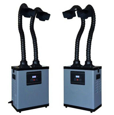 Updated DX1002Double Head Smoke Purification Equipment Smog Absorber Air Cleaner