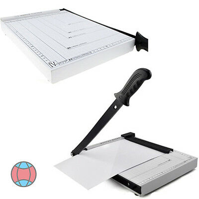 Professional Grade Guillotine A4 Paper Cutter Trimmer with Safety Guard C836