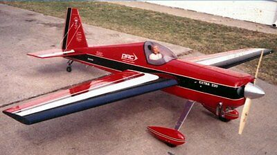 Extra 230 / 87inch wing 30% WS scratch build R/c Plane Plans & Patterns