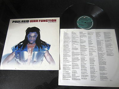 "Paul Reid And The United Nations ""war Function"" Rare 1992 Vinyl Lp"