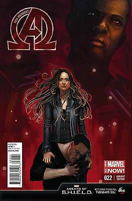 NEW AVENGERS #22 1:10 Agents of Shield Variant Cover by Stephanie Hans