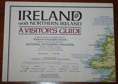 National Geographic Map - IRELAND & Northern Ireland - March 1981 - 20 x 14 in