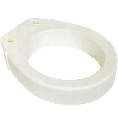 NEW Standard Toilet Seat Riser - Easy Installation - Raises Your Seat 3.5""
