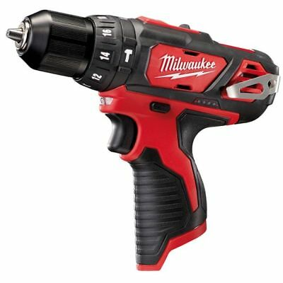 New Milwaukee M12 Drill 12V Cordless M12Bdd-0 Drill Driver Bare Tool Skin Only