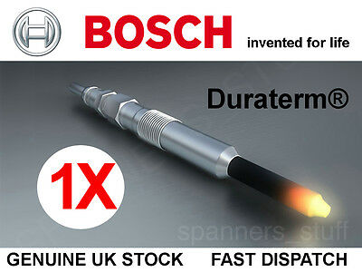 Bosch Duraterm Glowplug Glp115 0250203004 Citroen Jaguar Landrover Gm & More