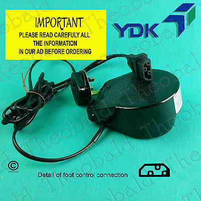 New Ydk Sewing Foot Control/power Pedal Fits Toyota (Most Rs2000, Sp Series, Etc
