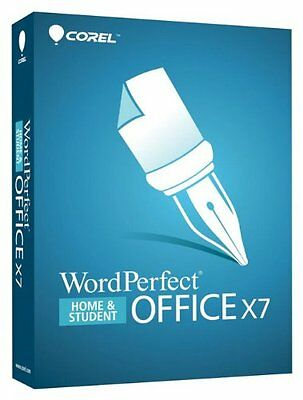 Corel WordPerfect Office X7 Home and Student - 3 PCs ✔Retail Box Disc Version✔