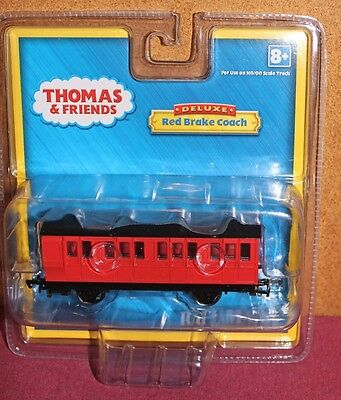 Bachmann 76039-HO Scale Thomas & Friends Model Electric Train-Red Brake Coach