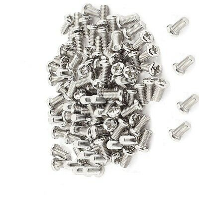 100 pcs M3 Screw 3x6mm 6mm Match M3 Copper Cylinder