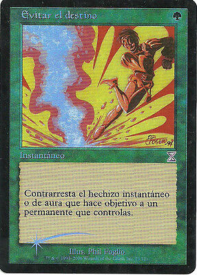 mtg Magic 1x Avoid Fate ( Evitar el destino ) Spanish  FOIL GOOD++++++++++++++++
