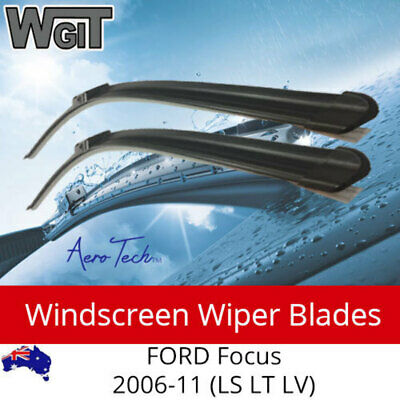 Windscreen Wiper Blades For FORD Focus 2006-11 (LS LT LV) - Aero Design (PAIR)