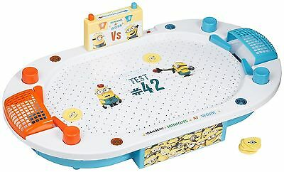 Despicable Me Minions Air Hockey Arena Game Machine Kids Present Gift Toy Xmas
