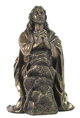 Jesus Praying In Garden of Gethsemane Statue Sculpture Figure -WE SHIP WORLDWIDE