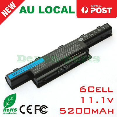 6cell Battery for Acer Aspire 7741 4740 5741 5742 5740G 5750 5749 Laptop AS10D81