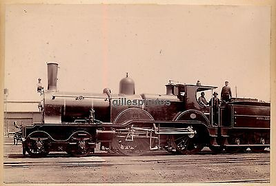 Locomotive c. 1880-90 - Chemins de Fer du Nord Train - 17