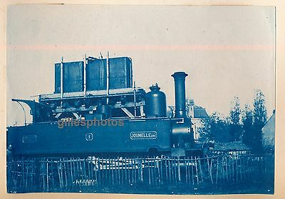 Cyanotype Locomotive c. 1880-90 - JOUMELLE Aine Train - 22