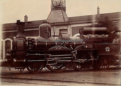 Locomotive PLM C-2 c. 1880-90 - Atelier de Paris Train - 29