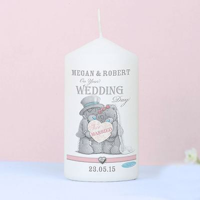 Personalised Me to You Wedding Candle For Couple Gift - Tatty Teddy Bear