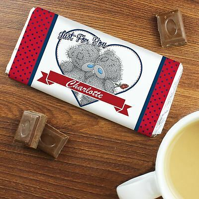 Me to You Personalised Romantic Chocolate Bar Personal Message Couple