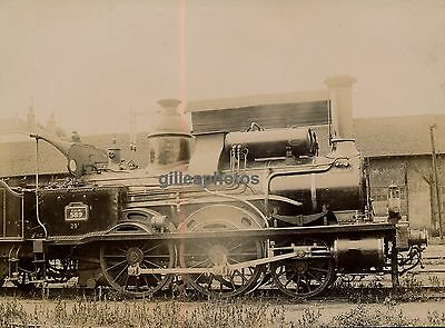 Locomotive PLM 589 c. 1880-90 -  Train - 38