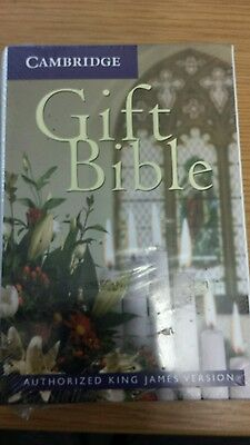 Gift Bible CAMBRIDGE Authorized King James Version