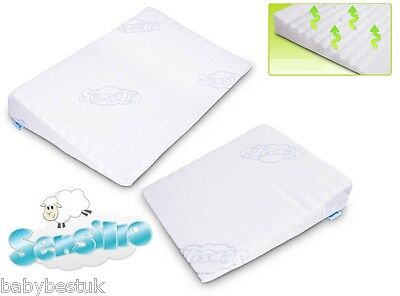 Baby Safety Foam Pillow Pram Carrycot REFLUX WEDGE PILLOW 30x37cm Sensillo
