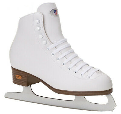 Riedell White Ribbon 112 Ice / Figure Skates - Were £80