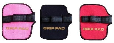 Weight Lifting Palm Grip Support Gym Gloves Hand Bar Grip Pads Protection Unisex