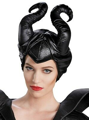 Disney Maleficent Horns Deluxe Headpiece Adult Costume Accessory - Fast Ship -