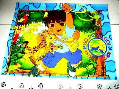 DIEGO from DORA THE EXPLORER 16x20 Poster Animal Rescuer