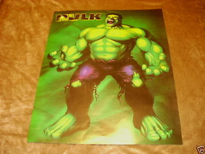 The INCREDIBLE HULK 16x20 Poster