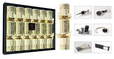 Luxury Tom Smith Chairman's Choice Christmas Xmas Crackers - 6 x 14'' Crackers