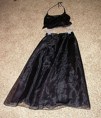 Alfred Angelo Formal Gown - Size 10 - Halter Top With Long Skirt