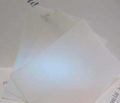 Conqueror Iridescent Polypropylene A4 500mic x 10 Sheets Arts & Crafts AM397