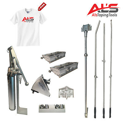 "Level5 Finishing Set of Automatic Drywall Taping Tools w/ 3"" Angle Head"