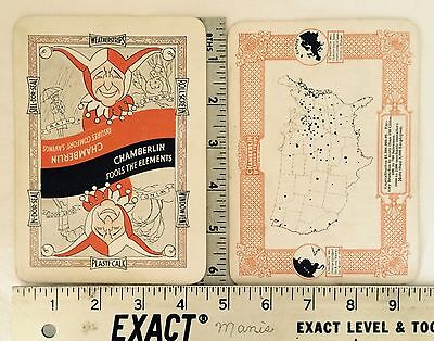 1927 Famous Architectural Buildings & Architects Oversized Playing Cards