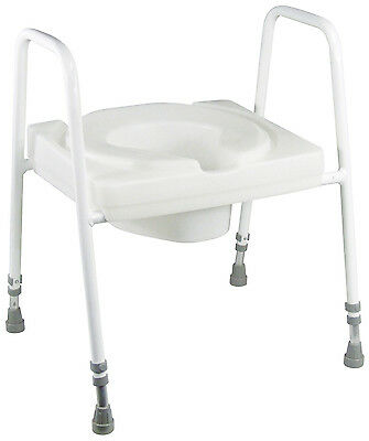 Ashby Lux Heavy Duty Toilet Seat and Frame