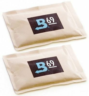 2 Boveda 69% 60 gram Humipacks Factory Fresh Canadian buyers only