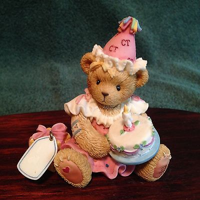 2001 Cherished Teddies 864390 May All Your Birthday Wishes Come True,Blank,9186