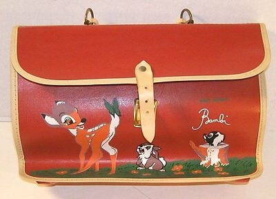 Vintage Walt Disney's Bambi School Bag (Excellent)