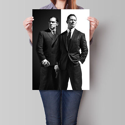 Legend Poster 2015 Movie The Krays Textless Promo Tom Hardy A2 A3 A4