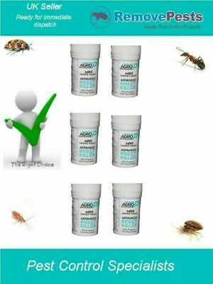 6 X bed bug Poison Bomb fogger fumers for bedbugs Treatments All Places AP