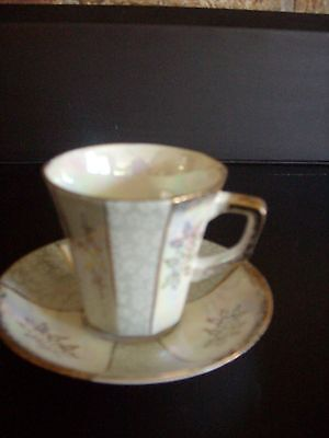 Napco China Cup and Saucer