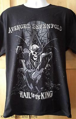 "AVENGED SEVENFOLD T-Shirt  ""End Of Days"" Official/Licensed S, M, L, XL, 2XL  NEW"